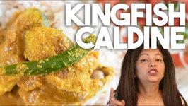 Kingfish Caldine Caldeen Caldinho - Goan Style Mild Fish Curry