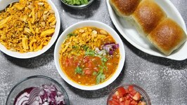 Crowd / Batch Cooking Misal Pav - Sev Usal