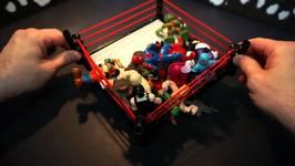 Ninja Turtles Toys - Battle Royal 1 -  Ft Imaginext Batman And Superman