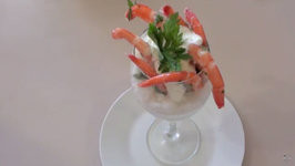 Prawns And Parmesan Cream