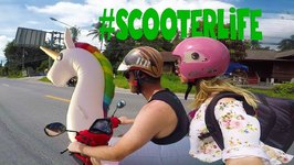 Exploring Koh Samui by Scooter and Unicorn - Thailand Travel Vlog