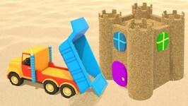 Toy Cars on the Beach- Cartoon for Kids