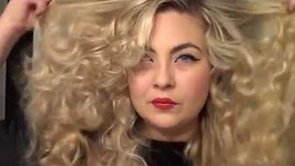 Easy Vintage Curls Using Hot Sticks