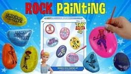 Toy Story 4 Kindness Rock Painting Kit DIY