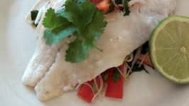 Ginger Fish And Herb Salad
