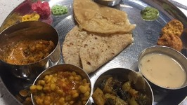 Gujarati Thali In Calgary Indian Veg Food