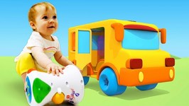 Learning Toys for Babies: A Toy Drum - Learn Colors and Numbers for Kids - A Toddler Learning Video
