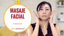 5 ejercicios de masaje facial