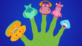 Dinosaurs Finger Family - Nursery Rhymes For Kids - Song For Children
