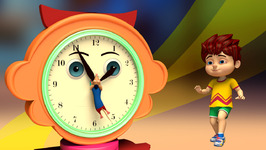 Hickory Dickory Dock-Children's Popular Nursery Rhymes