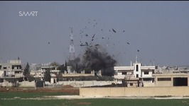 Air Raids Target Rebel Positions in Central Daraa City