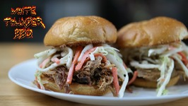 Smoky BBQ Pulled Pork With Coleslaw