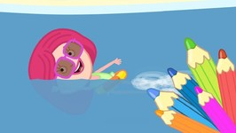 Smarta and her Magic Bag- On a beach Learning videos and Cartoons for Kids- Learn Colors with Smarta.
