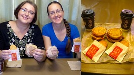 Mcdonalds Breakfast: McGriddles And Hash Browns / Gay Family Mukbang - Eating Show