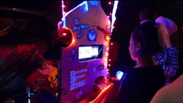 Family Constructs Hand-Crafted Halloween Candy Slot Machine