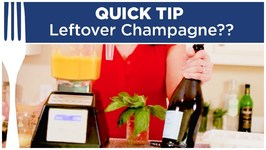 What To Do With Leftover Champagne Or Prosecco? - Quick Tips