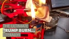 Mystery Savior Invents Epic Trump Burn Machine