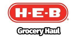 HEB Grocery Haul