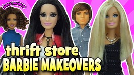 Thrift Store Barbie Doll Makeovers
