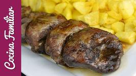 Carrilleras de cerdo asadas con aroma de romero - Recetas para dieta