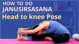 How To Do Head To Knee Pose Janu Sirsasana For Beginners - Simple Yoga Lessons Yoga