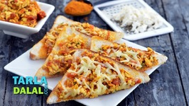 Paneer Cheese Toast - Hindi