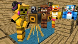 FNAF Monster School: Full Movie - Minecraft Animation (Five Nights At Freddy's)