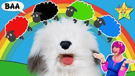 Learn Colors With Bah Bah Black Sheep - Educational Learning Songs For Children and Toddlers