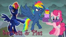 Secrets And Pie Evil Rainbow Dash MLP Custom Tutorial