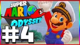 LAKE KINGDOM- Super Mario Odyssey - Lets Play Part 4