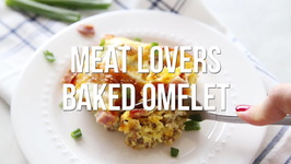 Meat Lovers Baked Omelette