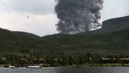 Helicopter Drops Water as Wildfire Near Breckenridge Sparks Evacuations