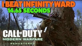 I BEAT INFINITY WARD - 14.65 Seconds on F.N.G. Time Trial