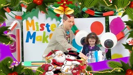 Sparkly Snow Picture Make - Mister Maker