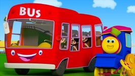 The Wheels On The Bus - Songs For Children - Nursery Rhymes By Bob The Train Part First