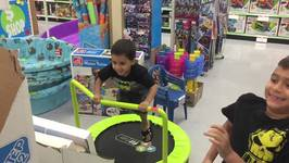 Slow Motion at Toy Store