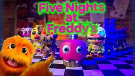 FNAF Halloween Adventure - Five Nights At Freddys Sister Location Toys