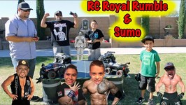 ROYAL RUMBLE with 4 RC CARS- RC SUMO