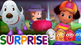 Rain Rain Go Away- Surprise Eggs Nursery Rhymes Toys- ChuChu TV Egg Surprise
