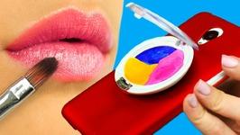 DIY Phone Case Designs  7 Makeup Ideas