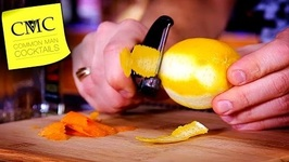DIY Spring/Summer Cocktail Ideas-Orange And Lemon Infused Vodka