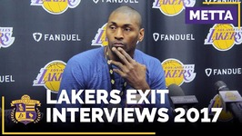 Lakers Exit Interviews - Metta World Peace Says Lakers Won't Bring Him Back Next Year