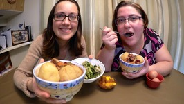 Low And Slow Heart Warming Stew - Pickled Lettuce And Mango Salsa / Gay Family Mukbang