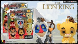 Lion King 3D Figural Bag Clips Full Case Opening  Disney Series 23