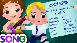 Months of the Year Song- Single-  January February Song - Original Kids Nursery Rhymes