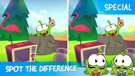 Spot the Difference Ep 17 - Om Nom Stories - Woods Chase