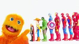 Spiderman, Hulk, Iron Man Defeat Thanos! Marvel Superheroes Play In Water with Crocodile! Mcu Toys