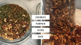 Pumpkin Pie Spice Granola -Healthy Low Sugar