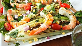 Lunch Recipe-Grilled Shrimp Salad