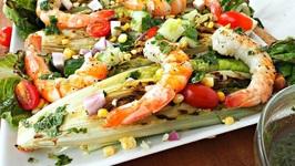 Lunch Recipe-Grilled Shrimp Salad